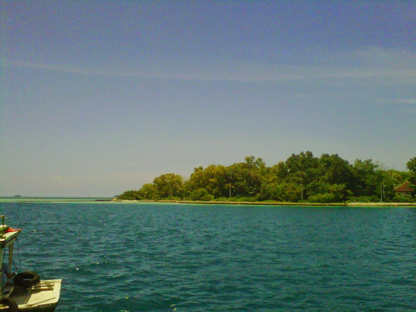 View Pemandanngan Pulau Karya Kepulauan Seribu