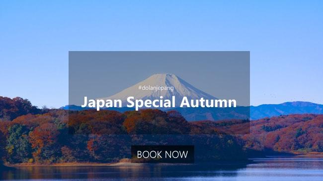 5D Trip Jepang Spesial Autumn Mt. Fuji Tokyo Oktober 2020
