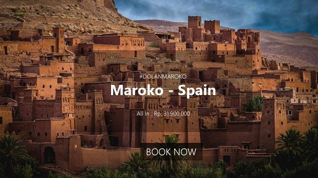 paket tour maroko spanyol murah