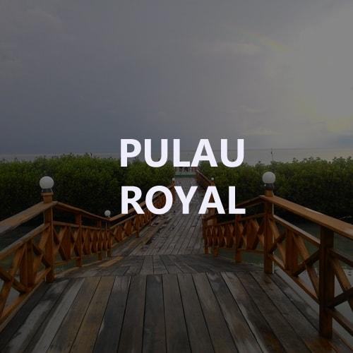 paket tour pulau royal